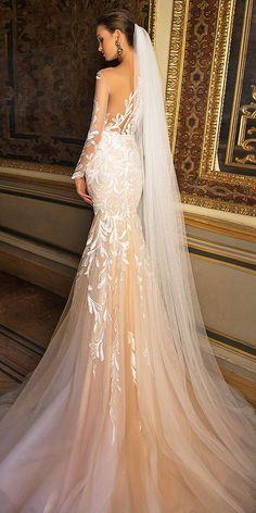Startling Milla Nova Wedding Dresses 2017 ❤️ See more: http://www.weddingforward.com/milla-nova-wedding-dresses-2017/ #weddings