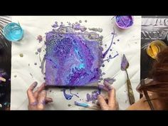 MESMERIZING Huge Cells with Flip Cup Dirty Slide Art Demonstration - YouTube