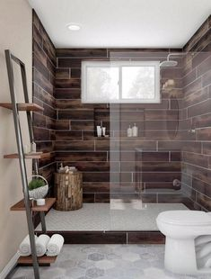 Shop our Bathroom Department to customize your Tigerstripe Walk-In Spa Shower today at The Home Depot. Basement Bathroom, Bathroom Interior, Small Bathroom, Bathroom Doors, Bathroom Showers, Bathroom Remodeling, Kitchen Interior, Master Bathroom, Bad Inspiration
