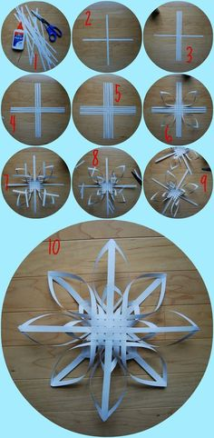 3D snowflake tutorial: