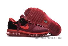 8600007ec8474 Shop Runs 2017 Offer Discount Sale Nike Air Max 2017 KPU Wine Red Black Men  Sneakers