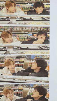 Suho, Chanyeol - 190501 Third official photobook 'PRESENT ; Park Chanyeol Exo, Kpop Exo, Kyungsoo, Exo Group Photo, Exo For Life, Exo Couple, Exo Album, Exo Lockscreen, Exo Korean