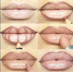 #Natural #plump #glossy #lips #beauty101 www.ihearthairinc.com 💋