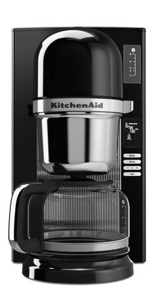 This pour-over coffee brewer will give you the best cup of coffee you've ever tasted. | KitchenAid coffee brewer