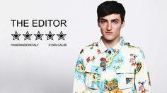 The Editor Uomo la Nuova Collezione PE 2014  #spring #summer #collection #style #fashion #men #ss2014 #shopping #moda #woman #theeditor  http://bit.ly/1mYaTQ1