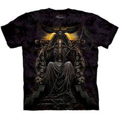 DEATH THRONE The Mountain Skeleton Skull Grim Reaper Scythe T-Shirt S-3XL NEW #TheMountain #GraphicTee