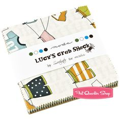 Lucy's Crab Shack Charm Pack Sweetwater for Moda Fabrics