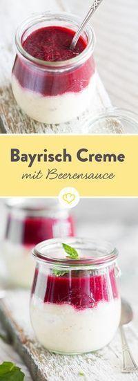 Ein echter Klassiker aus dem Süden: Bayerische Creme ist eine himmlisch sahnige Versuchung, die dich mit jedem Löffel ein bisschen mehr verzaubert.
