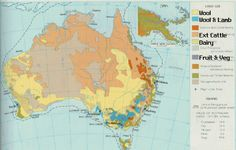 agricultural uses of land in australia as sourced by emily
