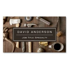 323 best carpenter business cards images on pinterest carpenter vintage rustic tools carpenter handyman woodworker business card cheaphphosting