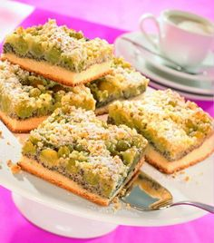 Stachelbeer-Mohn-Kuchen Rezept | Dr. Oetker