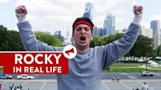 Rocky's Trainning Scene Is Recreated In Real Life And It Looks Great