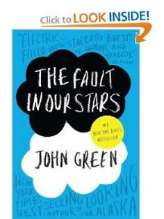 The Fault in Our Stars | John Green one of the best books ever! another masterpiece of John Green