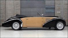 Bugatti Type 57 C Roadster by Gangloff. Classic