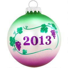 2013 Italian Life Is Beautiful Glass Ornament $5.98