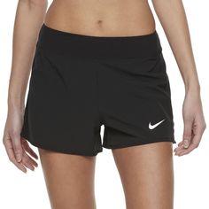 Women's Nike Court Flex Pure Tennis Shorts, Size: XS, Grey (Charcoal)