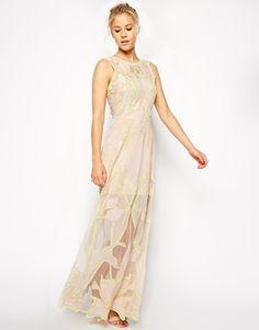 ASOS Premium Nouveau Maxi Dress