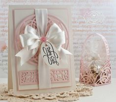 Baby Card Making Ideas by Becca Feeken using Quietfire Design and Spellbinders Arched Elegance and Arched Elegance Pocket - www.amazingpapergrace.com