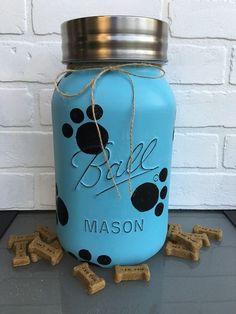 #DIY Dog Treat Mason jar