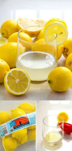Simple Lemon Detox Water Recipe | 14 Delicious Detox Waters For a Refreshing Day https://diyprojects.com/diy-recipes-detox-waters/