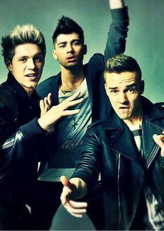 Niall, Zayn and Liam