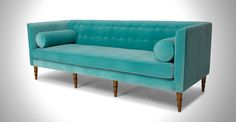 Celosia Oahu Aqua Sofa - Sofas - Article | Modern, Mid-Century and Scandinavian Furniture