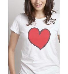 Szivecskés női póló Polo, V Neck, T Shirts For Women, Fashion, Moda, Polos, Fashion Styles, Fasion, Polo Shirt