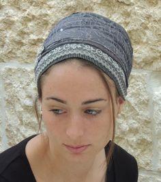 Spumante classico grigio tichel Snood capelli di SaraAttaliDesign