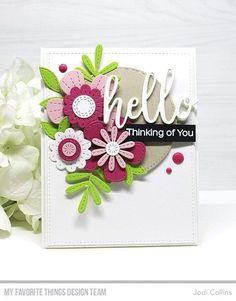 Beautiful Handmade Cards, Mothers Day Cards, Card Sketches, Mft Stamps, Flower Cards, Flower Birthday Cards, Card Kit, Stampin Up Cards, Spellbinders Cards