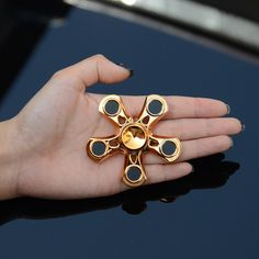 US $9.51 -- AliExpress.com Product - ABS five angle gyro Hand spinner fingertip gyroscope Spinner Hand Fidget Toy Tri Spinner Desk Anti Stress Finger Spin Classic Toys Hand Spinning Top For Children Adult Gift