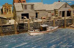 waterfront model railroad - Google Search
