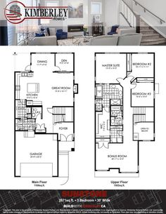Maddy ii model floor plan by pacesetter homes edmonton the sunstone home builders edmonton malvernweather Image collections