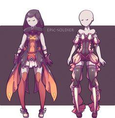 Costume adoptables 14(OPEN) by Epic-Soldier.deviantart.com on @DeviantArt