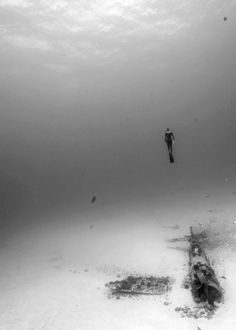 Free Diving. Crash site.   http://freediving4less.com  http://pinterest.com/freediving4less/  https://www.facebook.com/Freediving4Less  http://stores.ebay.com/freediving4less