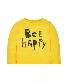 Buy boys tops at Mothercare. We have a great range of tops for boys from top brands. Kids Fashion Boy, Girl Fashion, Slogan Tee, Tee Shirts, How To Make Clothes, Making Clothes, Bee Images, Bee Creative, Baby Groot