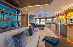 quattroelle yacht interior | Lürssen's Quattroelle: Live Life, Love Life – Yachts ...