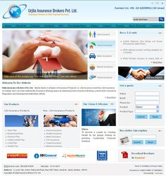 Urjita Insurance Website Developed by Dots Info Systems(I) Pvt. Insurance Website, Insurance Broker, Website Development Company, Knowledge, Dots, Consciousness, Stitches, Polka Dots