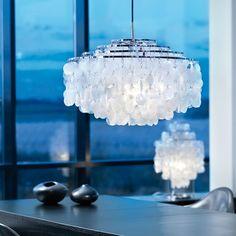 Fun 10 pendant light, designed by Verner Panton. $1,450