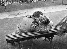 Lovers at the Père Lachaise cemetery in Paris, Credit: Gerald Bloncourt/Bridgeman Images Vintage Couples, Vintage Love, Vintage Photos, History Images, Art History, Van Morrison Lyrics, Erich Fried, Silly Love, Pere Lachaise Cemetery