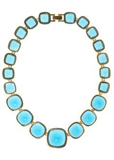 Erwin Pearl aquamarine necklace