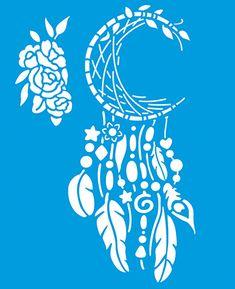 Litoarte Stencil Patterns, Stencil Designs, Henna Designs, Cricut Stencils, Stencil Diy, Halloween Stencils, Vine Monogram, Decoupage Tutorial, Craft Stick Crafts