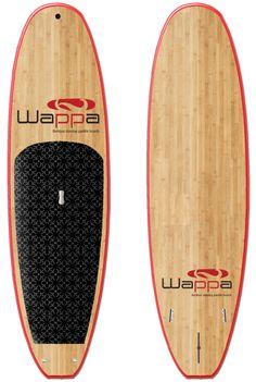 Wappa SUP - Classic www.wappanorway.com - Bambus Stand Up Paddleboard (SUP) - www.wappa.no