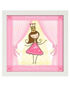"PTM Images ""Mommy's Little Princess"" Framed Print"