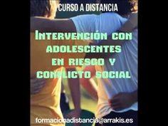 Curso Intervencion con adolescentes en riesgo y conflicto social. Matricula abierta. a distancia toda España.