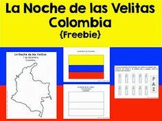 Fun for Spanish Teachers: La Noche de las Velitas in Colombia {Freebie}