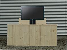 Tv lift meubel aan voeteneinde bed | Slaapkamer | Pinterest ...