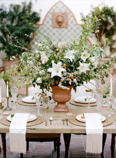 Citrus Summer Wedding Inspiration by Rebecca Yale Photography | Wedding Sparrow