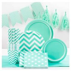 """Spritz™ Solid Tablecovers 54""""x108"""" Turq 1 Ct : Target"""