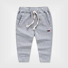 Мальчики дети брюки хлопок весна гаремные детей брюки одежда мода спортивные брюки для мальчиков девушки широкий свободного покроя брюки 2   6 т купить на AliExpress