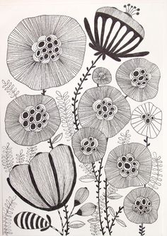 Doodle Patterns 348677196152213470 - 38 ideas for drawing ideas sharpie doodles tangle patterns Source by KiBuMuse Doodle Patterns, Zentangle Patterns, Doodles Zentangles, Doodle Drawings, Doodle Art, Dibujos Zentangle Art, Sharpie Doodles, Botanical Line Drawing, Flower Doodles